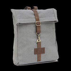 Maika waxed canvas backpack